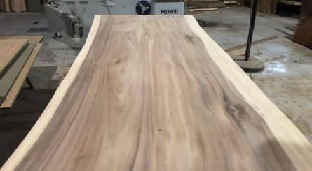 Unfinished Raintree / Monkey Pod Wood Slab